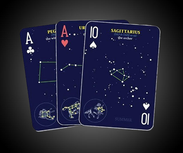 astrology game cards