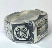 Перстень с султанитом