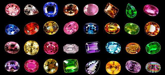 Драгоценные камни набор