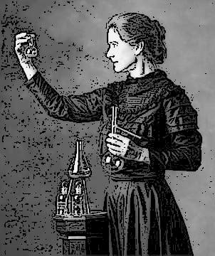 Мари Кюри - число судьбы 4