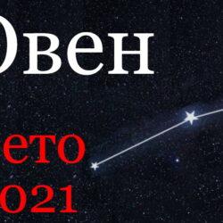 Овен гороскоп 2021 лето