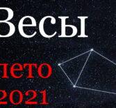 Весы гороскоп 2021 июнь, июль, август